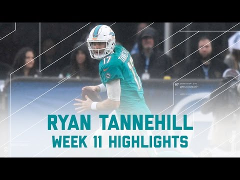 Ryan Tannehill Comeback Win | Dolphins vs. Rams | NFL Week 11 Player Highlights