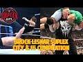 Brock Lesnar Suplex City & F5 Compilation