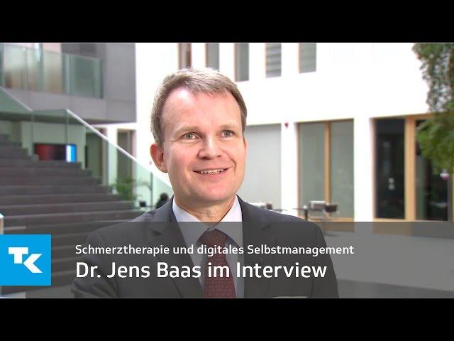 Dr. Jens Baas im Interview | Schmerztherapie und digitales Selbstmanagement