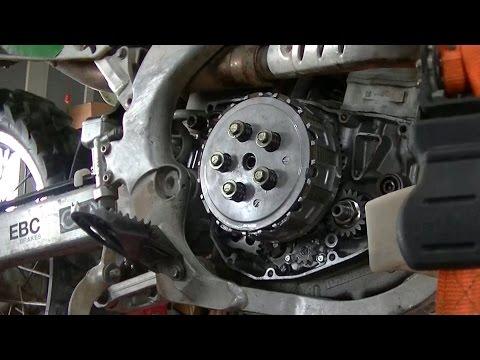 Installing Clutch on Dirt Bike