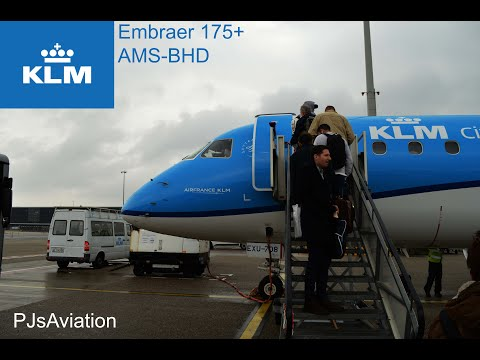 A FLIGHT TO HEAVEN!  - Tripreport! KLM Cityhopper Embraer 175 AMS-BHD, Eco. Comfort