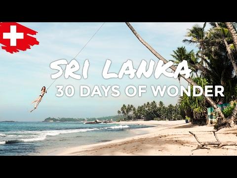 SRI LANKA   30 DAYS OF WONDER 🇱🇰 🌏