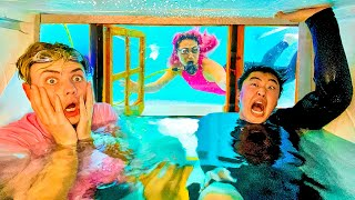 Download LAST TO LEAVE UNDERWATER HOUSE WINS $100,000 Mp3 and Videos