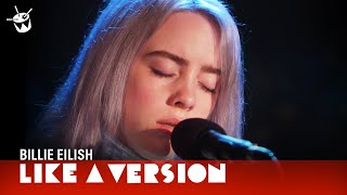 Billie Eilish covers Michael Jackson &#39Bad&#39 for Like A Version