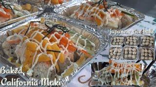 NEW TRENDING BAKE OR NO BAKE CALIFORNIA MAKI/BAGONG NEGOSYO IDEA/BAKED SUSHI