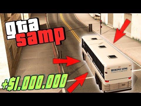 Как Заработать 1.000.000$ Новичку на Автобуснике на Evolve RP в GTA SAMP