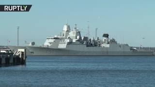 В порт Таллина прибыли шесть кораблей НАТО