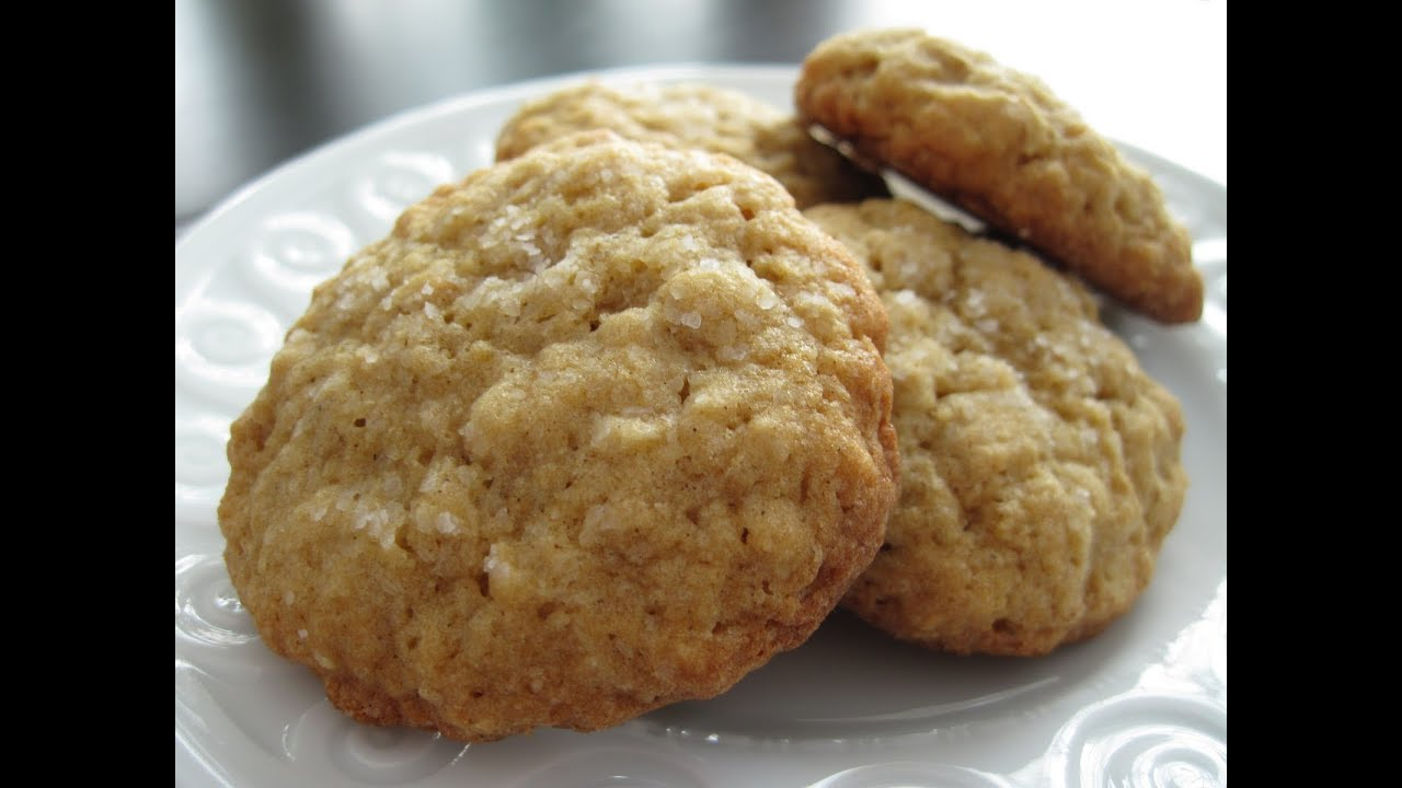 Simple Oatmeal Cookies Recipes - Vegan - YouTube