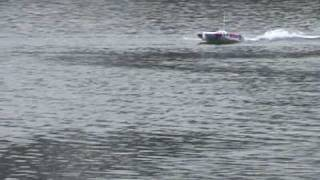 Segad High Speed Brushless Catamaran RC RTR Speed Boat!