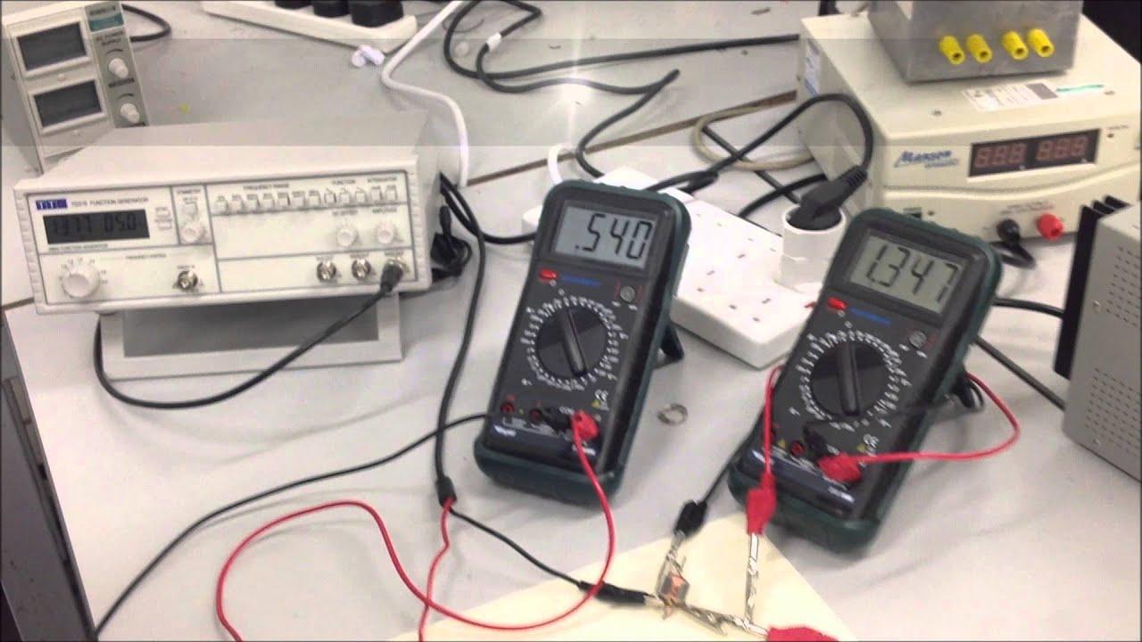 Coil Inductance Measurement And Calculationwmv Youtube Auto Lcr Digital Electric Bridge Resistance Capacitance