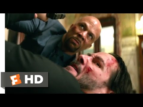 John Wick: Chapter 2 (2017) - John vs. Cassian Scene (5/10) | Movieclips