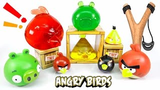 DIY Angry Birds Jelly ! Edible Angry Birds Gummy Pudding | MonsterKids