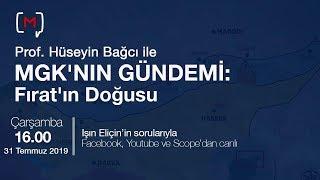 MGK'nın Gündemi: Fırat'ın Doğusu Konuk: Prof.Dr. Hüseyin Bağcı