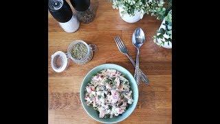 САЛАТ С БАКЛАЖАНАМИ И СОУСОМ АЛИОЛИ Простой и Вкусный салат