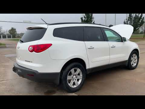 2012 Chevrolet Traverse LT FWD (1GNKRGED0CJ) with an 3.6L V6 DOHC 24V engine, 6-Speed Automatic transmission, located at 17760 Hwy 62, Morris, OK, 74445, (918) 733-4887, 35.609104, -95.877060 - Photo #0