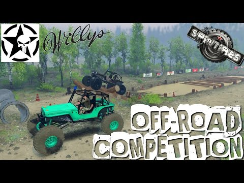 "[SPINTIRES] OFF ROAD COMPETITION !!!! ""Y'A DU LOURD"" :))"