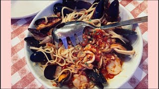 Familyi Style Italian Pasta&Pizza!! at Bucca di Beppo | KEEMI★VLOG