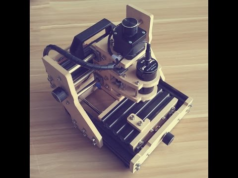 DIY Mini 3 Axis USB Desktop CNC Router Wood PCB Milling Carving Engraving Machine Laser Engraver Kit