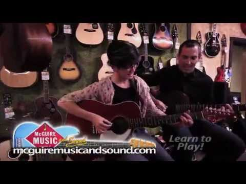 "MCGUIRE MUSIC TV30 OCT2015  ""LEARN TO PLAY!"""
