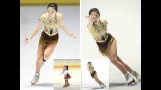 フィギュアスケートの全日本ジュニア選手権最終日は25日、アクシオン...