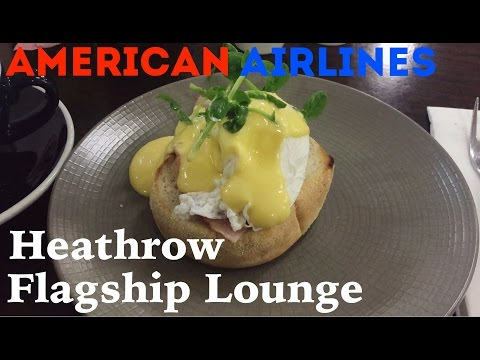 American Airlines Flagship First Class Lounge, London Heathrow