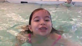 Maya and Bora At the JW Marriott Pool