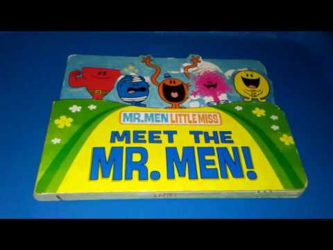 "Mr.Men Little Miss ""Meet the Mr.Men!"" Read-aloud children book storybook"