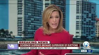 Governor Rick Scott suspends Broward Elections Supervisor Brenda Snipes from office