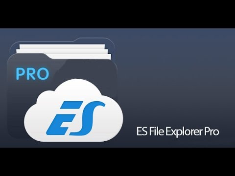 How to download and install ES FILE EXPLORER PRO-PAID 100% WORKING AND GENUINE   FOR FREEE ------