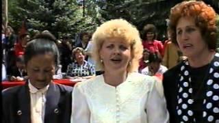 Последний звонок школа №1 с.Ананьево 1996 год. (неполная версия :) )