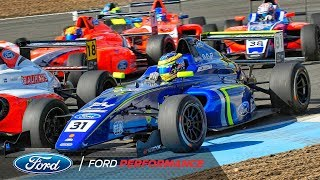 British F4 Knockhill Race Highlights | F4 British Championship | Ford Performance