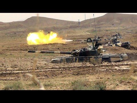 Только что! Турецкие бойцы уже там, Баку готово. Армяне в ужасе, колпак сомкнулся. Началось