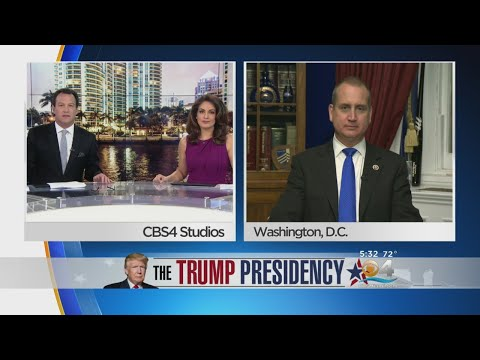 Rep. Mario Diaz-Balart Appears On CBS4 To Discuss Bipartisan Immigration Meeting