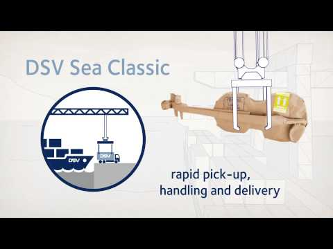 DSV sea freight products (in English)