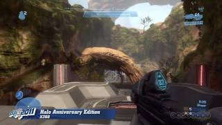 Halo: Combat Evolved Anniversary - Battle Creek Gameplay (Xbox 360)