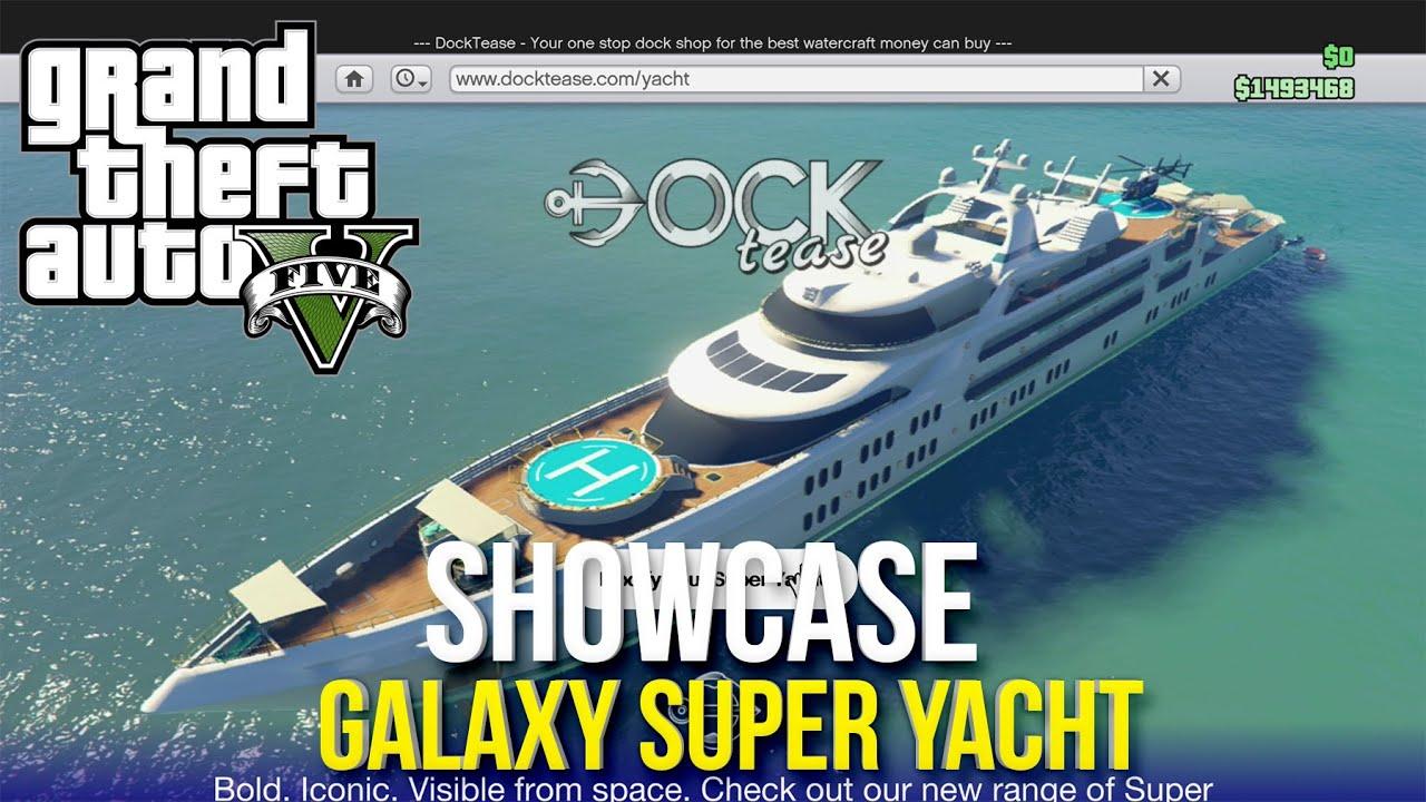 GTA V: SUPER YACHT - Showcase Price Customisation