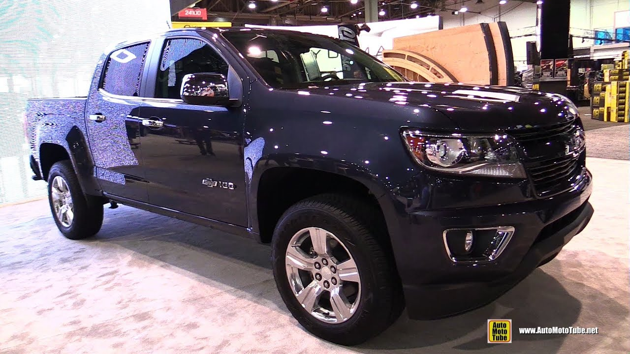 2018 chevrolet colorado z71 centennial edition - walkaround - 2017 sema
