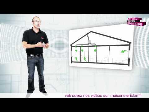 Quelle V.M.C choisir pour faire construire sa maison, simple flux ou double flux ?