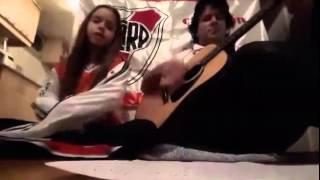 La Copa Libertadores es mi obsesión Cantando Niña RIVER PLATE