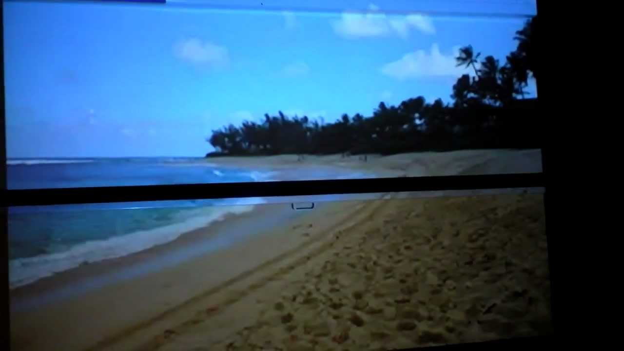 What S Picture Differences Projector Screen Vs White Wall