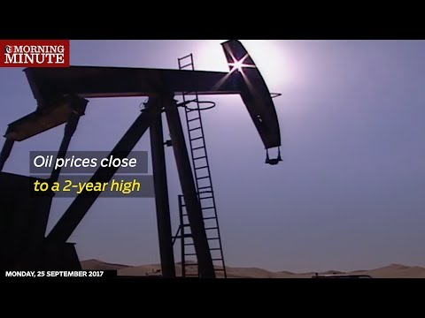 Oil prices close to a 2-year high