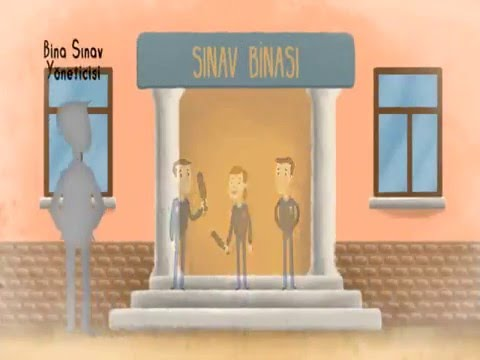 ÖSYM Sınav Görevli Eğitimi Animasyon Filmi