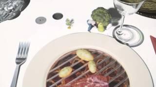 Le Petit Chef - настоящее шоу из рядового обеда в ресторане