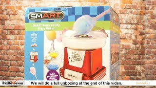 Cotton Candy Maker - Candy Floss Machine Review - 4K
