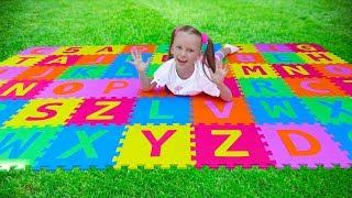 Учим английский алфавит и ABC детская песенка