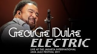 "George Duke Electric ""Cravo E Canela/Geneva"" Live At Java Jazz Festival 2011"