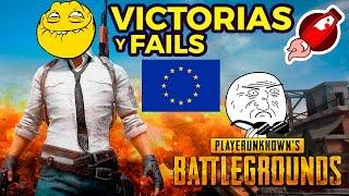 """🎮 Victorias y Fails del campeonato Europeo de """"Players unknown Battleground"""""""