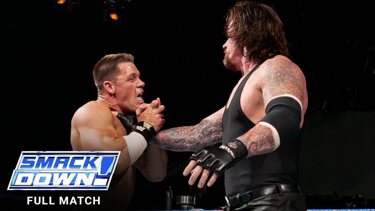 Download FULL MATCH - The Undertaker vs. John Cena: SmackDown, June 24, 2004