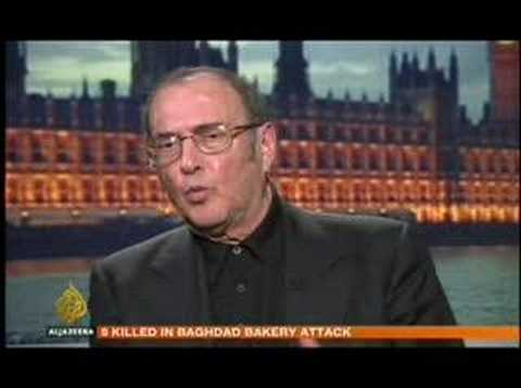 Al-Jazeera interviews Harold Pinter Part 2