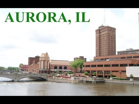Pictures Of Downtown Aurora, Illinois
